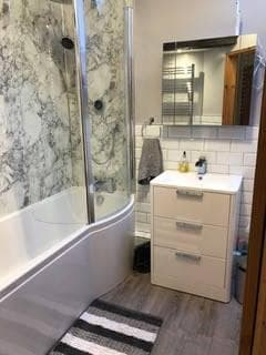 Finished Bathroom in Happisburgh by MG Plumbing & Heating Norfolk Ltd